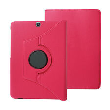 """360 Rotating Folio Leather Stand Cover Case for Samsung Galaxy Tab S2 8.0"""" /9.7"""""""
