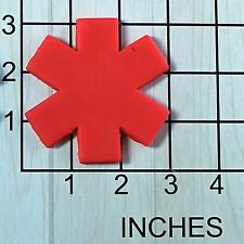 Medic Cross Star of Life Fondant Cookie Cutter #1539