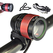 3000 Lumen CREE T6 LED Zoom Adjustable Focus Bike Light Headlight Headlamp Torch