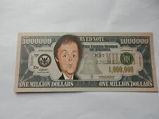 Paul McCartney NOVELTY $1 MILLION DOLLAR NOTE Bill $1,000,000 Beatles singer Mac