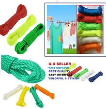 1pc x STRONG 20M 65.8ft WASHING CLOTHES THICK ROPE LINE GARDEN LAUNDRY DRYER Rpe