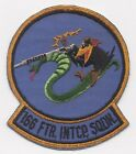 1950s US Air Force 166th Fighter Interceptor Squadron Patch