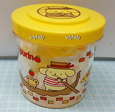 Sanrio Pom Pom Purin Plastic Container With Candy  , h#1