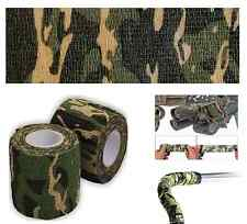 DESERT CAMO STEALTH TAPE REUSABLE ROLL CAMOUFLAGE RIFLE GUN HUNTING ARY  4.5 M