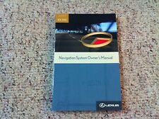 2007 Lexus RX350 RX 350 Navigation System Owner User Manual Guide Book