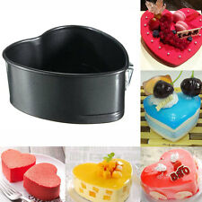 Non-Stick Love Heart Shape Cake Pan Tin Cake Mold Baking Cheese Bread Cake mould