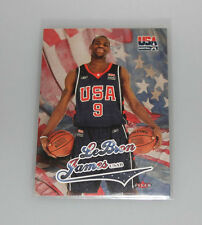2004 Fleer USA Basketball Lebron James