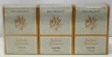 *Houbigant - Indian Summer Soap Seife Savon 3x 78g Neu & OVP* **Vintage**