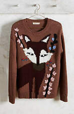 NWT Anthropologie Foxy Intarsia Pullover by Paul & Joe Sister Size S