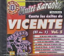 Vicente Fernandez El No 1 Vol 5 Karaoke New Nuevo Sealed