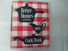 Vintage 1953 BETTER HOMES AND GARDENS NEW COOK BOOK 5 Ring Binder 1st Edition