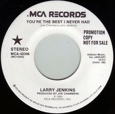 LARRY JENKINS You're The Best I Never Had ((**NEW UNPLAYED 45 DJ**)) from 1984