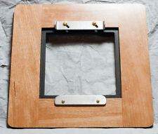 """1 Adapter 7""""x7""""RC for use 4x4"""" Wisner boards to Field Plate Guillory 8x10 Camera"""