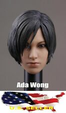 1/6 Ada Wong head for Resident Evil hot toys phicen kumik body USA