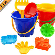 7Pcs Sand Sandbeach Kids Beach Toys Castle Bucket Spade Shovel Rake Water Tools