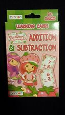 Strawberry Shortcake Addition & Subtraction Educational Learning [FLASH CARDS]