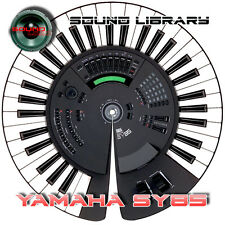 YAMAHA SY85 HUGE Original Factory & New Created Sound Library/Editors on CD