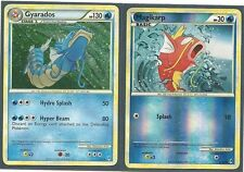 RARE GYARADOS (Holo) & MAGIKARP (RH) -2 EVOLUTION POKEMON -CALL OF LEGENDS MINT