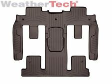 WeatherTech FloorLiner for Chevy Traverse - 2009-2010 - 2nd & 3rd Row - Cocoa