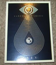 SHEPARD FAIREY Obey Giant Sticker 3 X 4 EARTH CRISIS from poster print