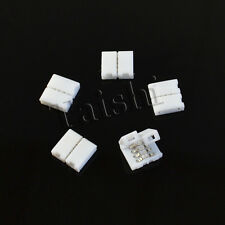 5X LED SMD RGB SCHNELL VERBINDER ADAPTER 4 PIN STECKER KABEL LEISTE STRIP LICHT