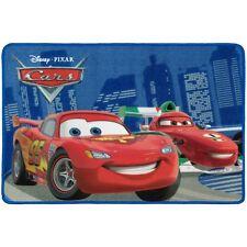 Teppich Kinderteppich Cars 2 McQueen vs Francesco Teppich 80x120 cm rot blau