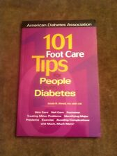 101 Foot Care Tips for People With Diabetes (2000, Paperback) Jessie H. Ahroni
