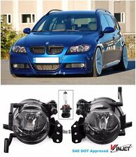 OE Style Clear Lens Fog Lights Lamps For 04-11 BMW E90 3-Series E60 5-Series