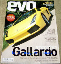 Evo Magazine Issue 58 - Lamborghini Gallardo