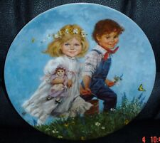 Reco International Corp Collectors Plate JACK AND JILL Ltd Edition
