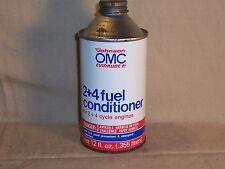 Vintage Johnson Evinrude Fuel Conditioner Metal Cone Top Boat Oil Can