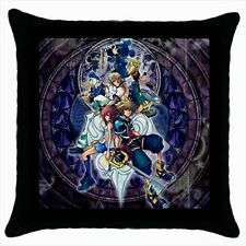 Kingdom Hearts Logo Game #J01 Throw Pillow Cushion Case