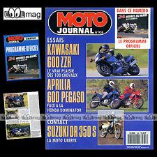 MOTO JOURNAL N°938 SUZUKI DR 350 S, KAWASAKI ZZR 600 ★ 24 HEURES DU MANS 1990 ★