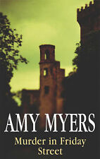 Amy Myers Murder in Friday Street (Severn House Large Print) Very Good Book