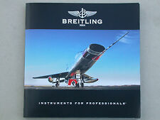 Breitling Instruments for professionals catalogue 2008 Horlogerie Montres Luxe