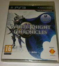 White Knight Chronicles PS3 Nuevo Sellado PAL Reino Unido versión juego Sony PlayStation 3