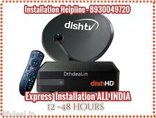 Dish TV HD+ Dishtv HD recorder DTH Set Top Box with 3 YEARS*Free 99 subscription