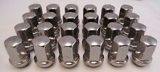 2015-17 Chevy Colorado GMC Canyon Stainless Polished Chrome 14x1.5 Lugs Lug Nuts