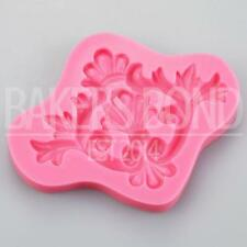 Baroque Vintage Regal Beauty Silicone Mould Cake Fondant Sugarcraft Topper