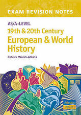 AS/A-Level 19th And 20th Century European And World History Exam Revision Notes,