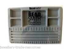 La Beadsmith beaders Mini viajeros Bead Board Con Tapa Para la fabricación de joyas