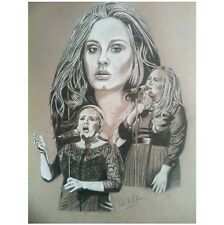 ~ Adele ~  Original drawing By Patrick J. Killian ~ make an Offer :-)