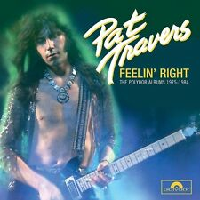 PAT TRAVERS - FEELIN' RIGHT (4CD BOX) 4 CD NEU