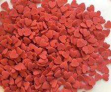 Red,White,Pink & Purple Hearts -Valentine Sugar Sprinkles for Cake Decorations..