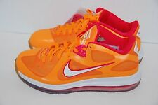 Nike Air Max LEBRON IX 9 Low FLORIDIAN ORANGE CHERRY PINK WHITE 510811-800 9 US