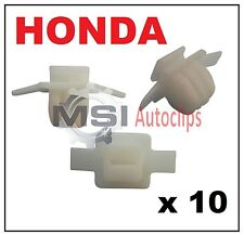 10 x HONDA CIVIC & CRV Wheel Arch Surround Moulding Trim Fastener Clips