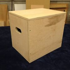 "16""x14""x12"" Plyo Box  MMA Exercise Equipment Crossfit Jump Plyometric"