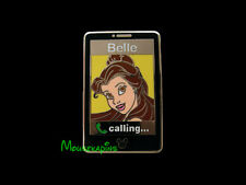Princess BELLE Calling - CELL PHONE Beauty & the Beast Disney Pin