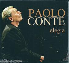 Paolo Conte. Elegia (2004) CD NUOVO Digipack. Nostalgia Del Mocambo. Casa Cinese