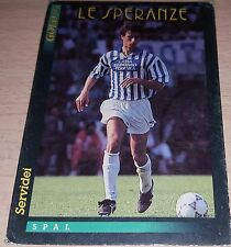CARD GOLD 1993 SPAL SERVIDEI CALCIO FOOTBALL SOCCER ALBUM